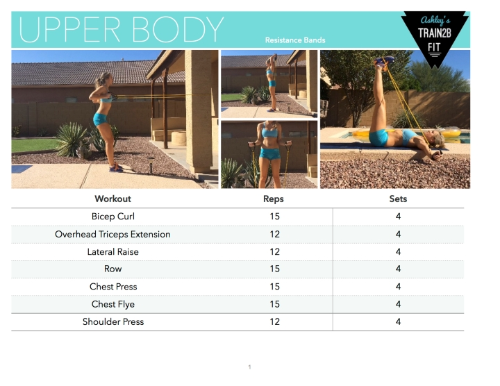 Upper Body Workout – Resistance Bands