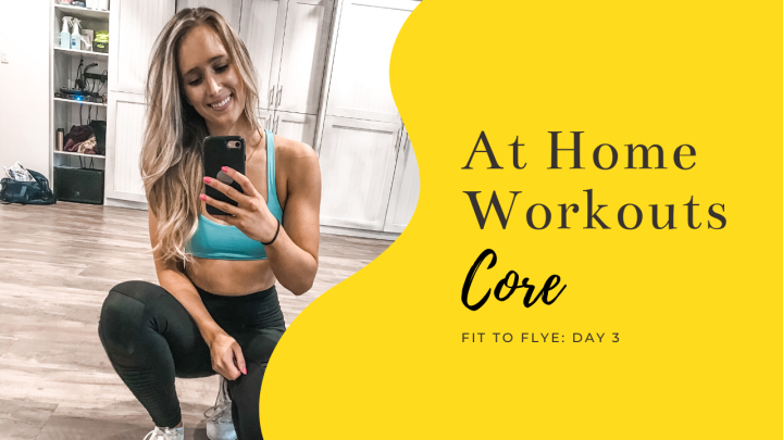 At-Home Workout Day Three: Core